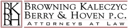 Browning, Kaleczyc, Berry and Hoven attorneys at law logo