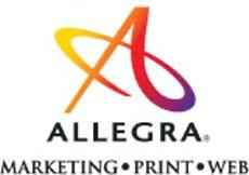 allegra marketing print mail helena logo